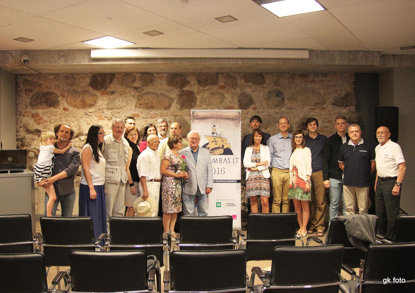 Kolumbas LT konkurso laureatai ir komisija
