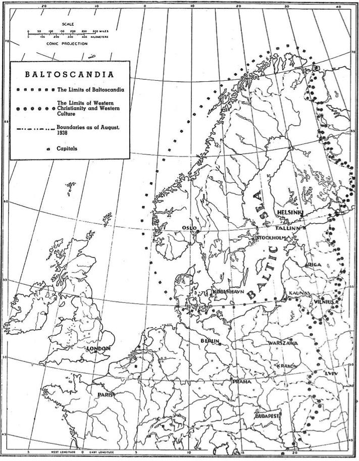 Baltijos ir Skandinavijos erdvė: kelias į Baltoskandiją